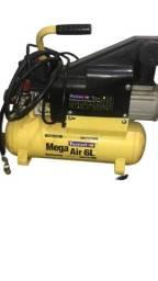 Compressor de Ar Mega Air 1 HP 5,5 PCM 6 Litros-Ferrari C/6L