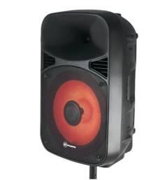 Caixa de Som Amplificada GT400 Goldentec 400W RMS com USB e Bluetooth