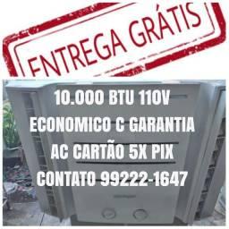 Título do anúncio: Parcelo No Cartao 5x Pix Ar Condicionado 10.000 Btu 110V Economico Entrego Agora Gratis