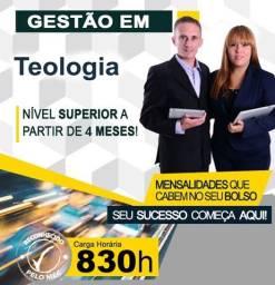 Título do anúncio: Curso Superior em Gestão de Teologia - EAD, Promoção