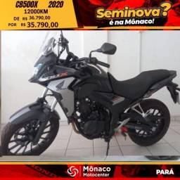 Título do anúncio: Moto seminova  CB 500X