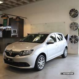 Título do anúncio: Renault Sandero Expression Prata 2019