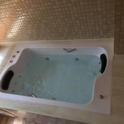 Banheira frente a frente dupla 1.80 x1.20 x 0.50