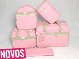 Kit bolsas maternidade luxo! Não descasca e não resseca