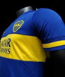 Camisa Boca Jr. modelo jogador