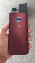 Moto G7 plus rubi todo original e bem conservado