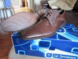 Sapato Social Couro Floather Le Sportiff - 38/39 - Novo na Caixa Lindo