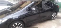 Honda civic 2.0 LXR 2015 GNV 5a. GERACAO 2a Dona Manual e chave Reserva