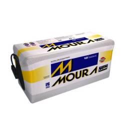 Título do anúncio: Bateria Moura 220Ah LOG Diesel ? M220PD ? Original de Montadora
