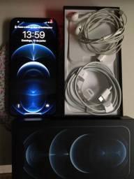 iPhone 12 PRO MAX ocean pacífic blu 128GB