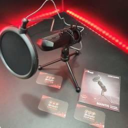 Título do anúncio: Microfone Streams Mantis - Melhor captura de som sem ruído