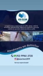 Lavagem higienização