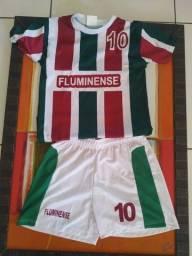 Conjunto do Fluminense infantil M.