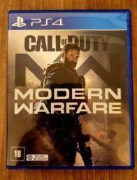 Título do anúncio: Call of Duty - Modern Warfare - PS4