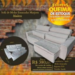 Título do anúncio: sofá retratil e reclinavel (entrega grátis)