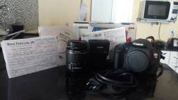 Canon t5 nova na caixa com nota fiscal