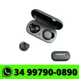 Fone de Ouvido Bluetooth TWS Leboss