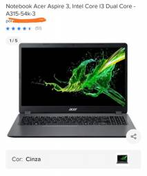 Notebook Acer A315-54k-31E8 4GB