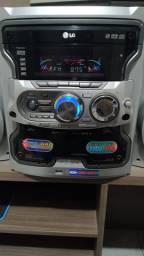 Mini system LG usado