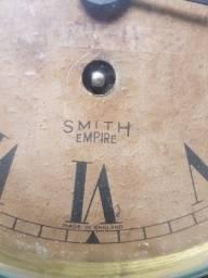 Relógio inglês Smith Empire de navio em bronze a corda