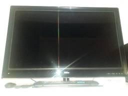 Televisão  42 polegada serve como monitor de computador tambem