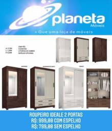 Título do anúncio: ROUPEIRO IDEALE 2P PROMOÇÃO / CACHORROS CACHORRO