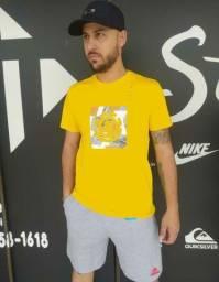 Título do anúncio: Kit Camiseta +Shorts de Moleton