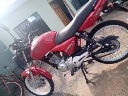 Cg 150 top partida elétrica e pedal moto nova
