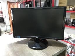 Título do anúncio: Monitor LED 20'' AOC - Ultra Slim - Entrada VGA / DVI- Usado em boas condições
