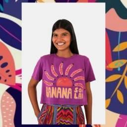 T-shirt cropped banana solar - Farm
