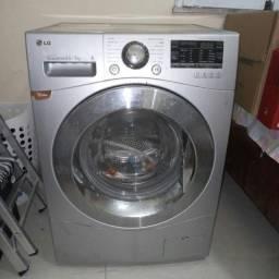 LG máquina de lavar e secar