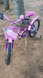 Bicicleta infantil aro 20 seminova
