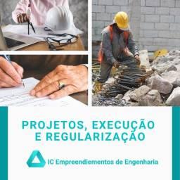 Título do anúncio: Engenheiro para : Projetos, Regularização, Consultoria, ART, Alvará de construção etc...