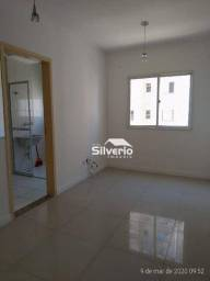 Apartamento com 2 dormitórios para alugar, 48 m² por R$ 1.000/mês - Jardim Copacabana - Sã