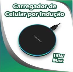 Título do anúncio: Carragador Sem Fio Wireless por Indução Qi Charger