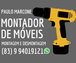 Título do anúncio: Montador de móveis 24hrs