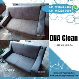 Limpeza e impermeabilização de sofá, cadeiras, colchão, tapetes, carpete, veicular