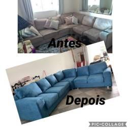 Título do anúncio: Reparação de sofa disponível