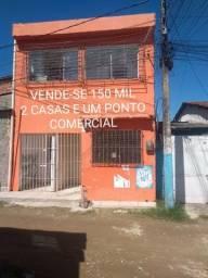 2 Casa e um ponto comercial/Candeias