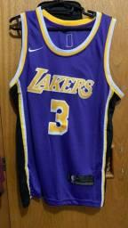 Camisa Regata Lakers Number 3 Davis P