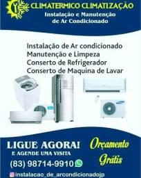 Instalacão de ar condicionado