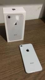 Título do anúncio: Iphone 8 64g silver