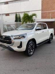 Título do anúncio: Toyota Hilux srx Aut diesel 0km Branca