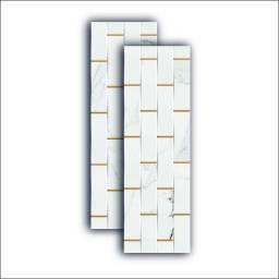Revestimento Trama Rimini 32x100cm Ceusa R$149,90m² A vista - Amo Casa Acabamentos