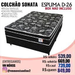 Cama Box Sonata D-26 Novo Entrega Goiânia e Aparecida