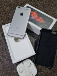 IPhone 6s 16gb  muito novo todo original, saúde da bateria 93% caixa e fones originais