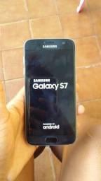 Título do anúncio: Samsung galaxy S7, seminovo.