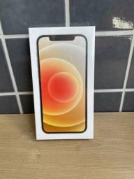 ( LACRADO COM NF) Iphone 12 128 Gb Branco