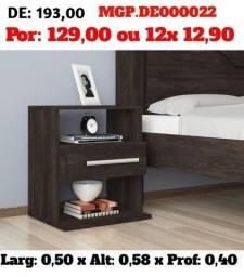 Título do anúncio: Mesa de Cabeceira com Gaveta-Dormitorio- Casal- Saldão em Ponta Grossa