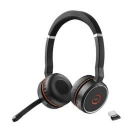 Headset Jabra Evolve 75 Ms Stereo Sem Fio 7599-832-109